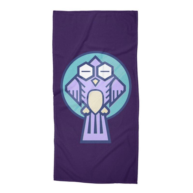 Night Owl Accessories Beach Towel by Gentlemen Tees