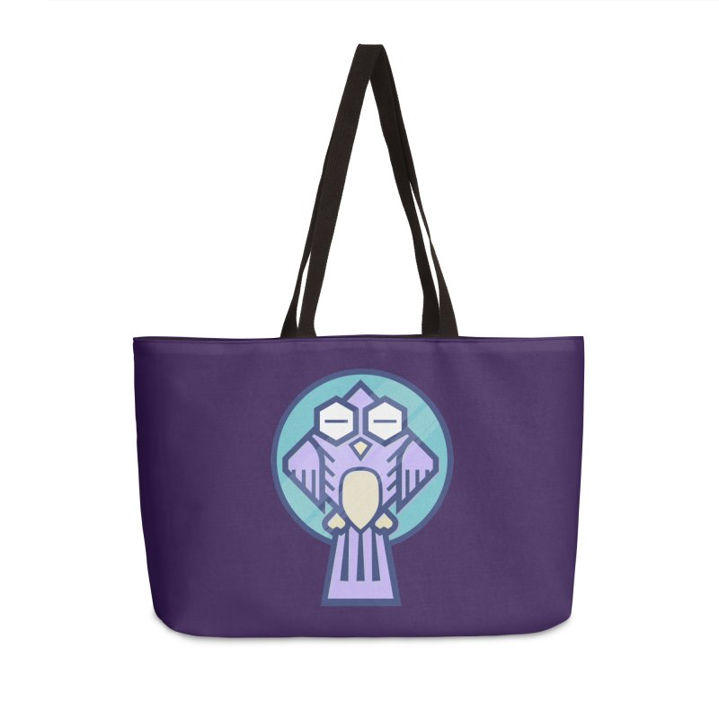 Night Owl Accessories Weekender Bag Bag by Gentlemen Tees