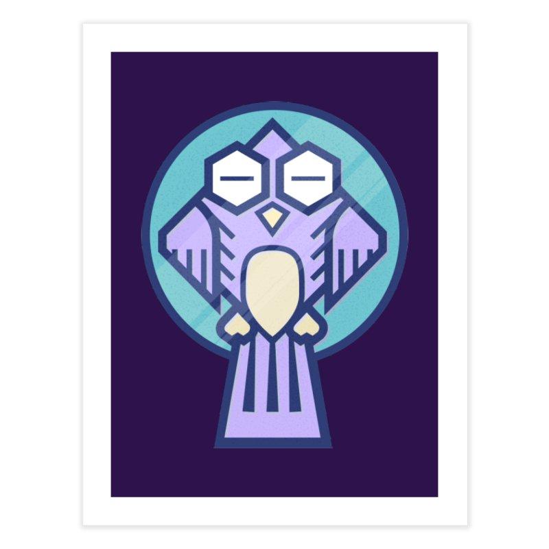 Night Owl Home Fine Art Print by Gentlemen Tees