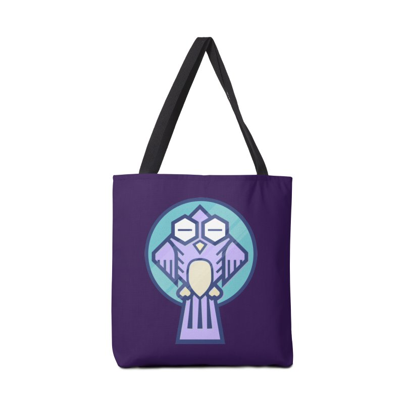 Night Owl Accessories Tote Bag Bag by Gentlemen Tees