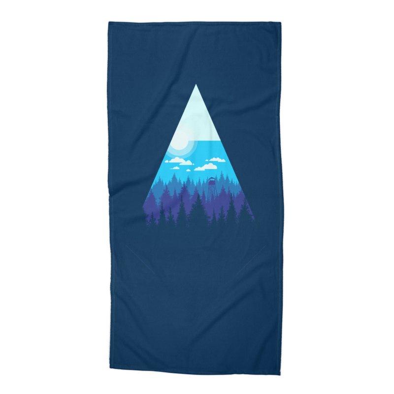 Morning Watch Accessories Beach Towel by Gentlemen Tees