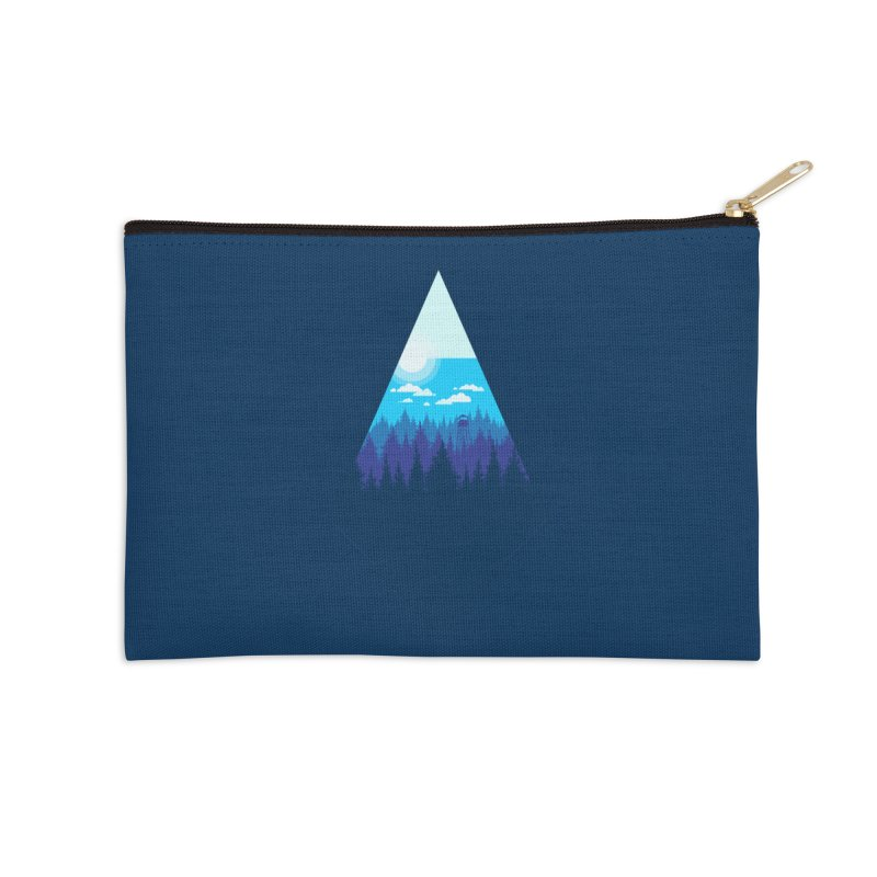 Morning Watch Accessories Zip Pouch by Gentlemen Tees
