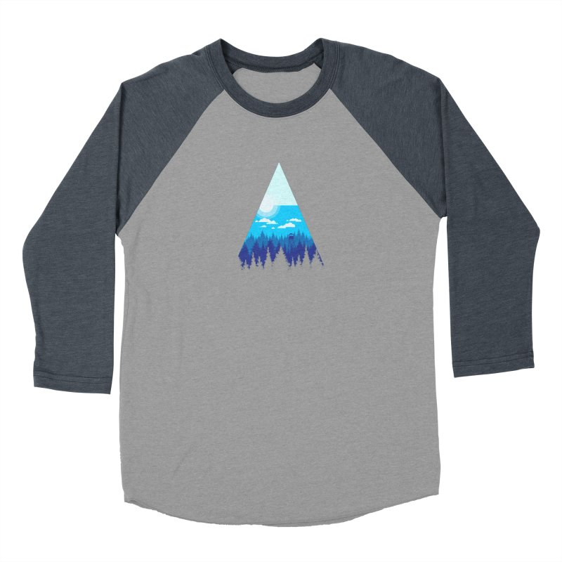 Morning Watch Men's Baseball Triblend Longsleeve T-Shirt by Gentlemen Tees