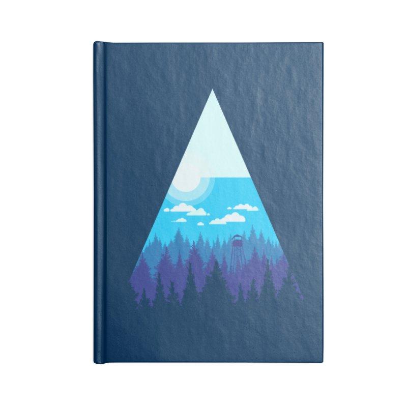 Morning Watch Accessories Blank Journal Notebook by Gentlemen Tees