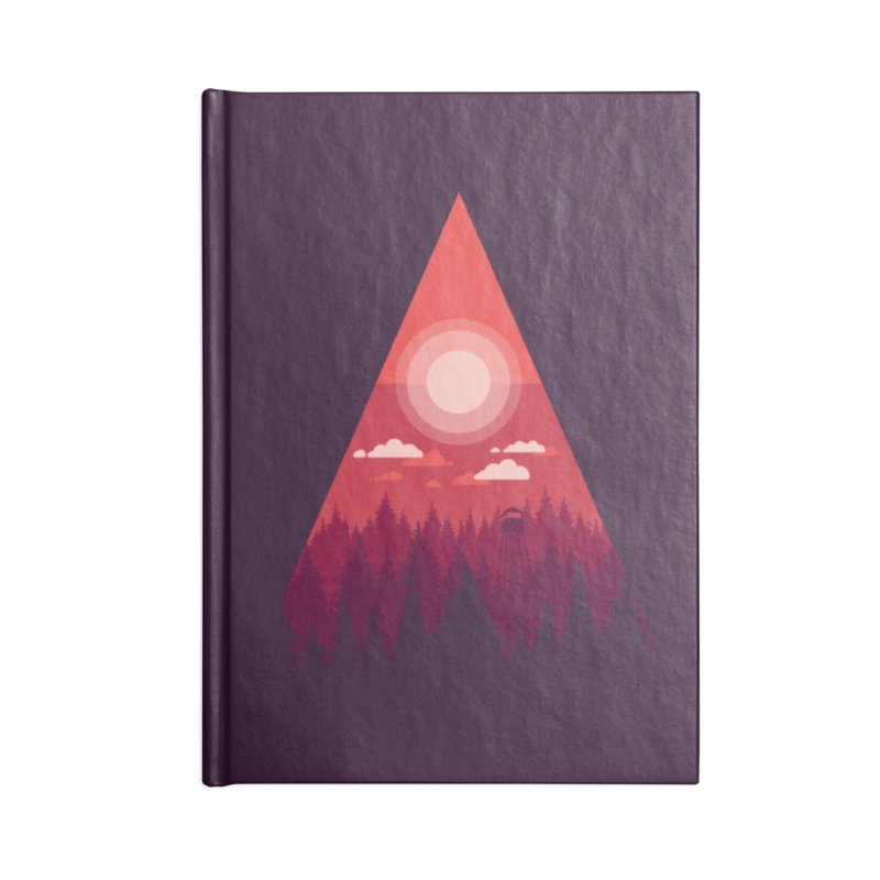 Noon Watch Accessories Lined Journal Notebook by Gentlemen Tees