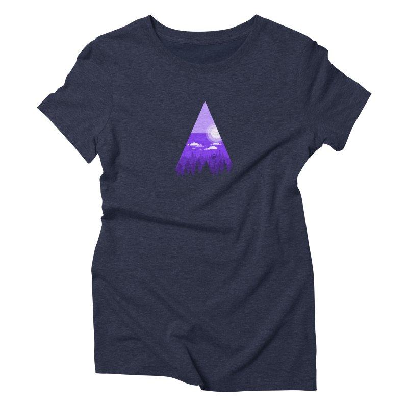 Evening Watch Women's Triblend T-Shirt by Gentlemen Tees