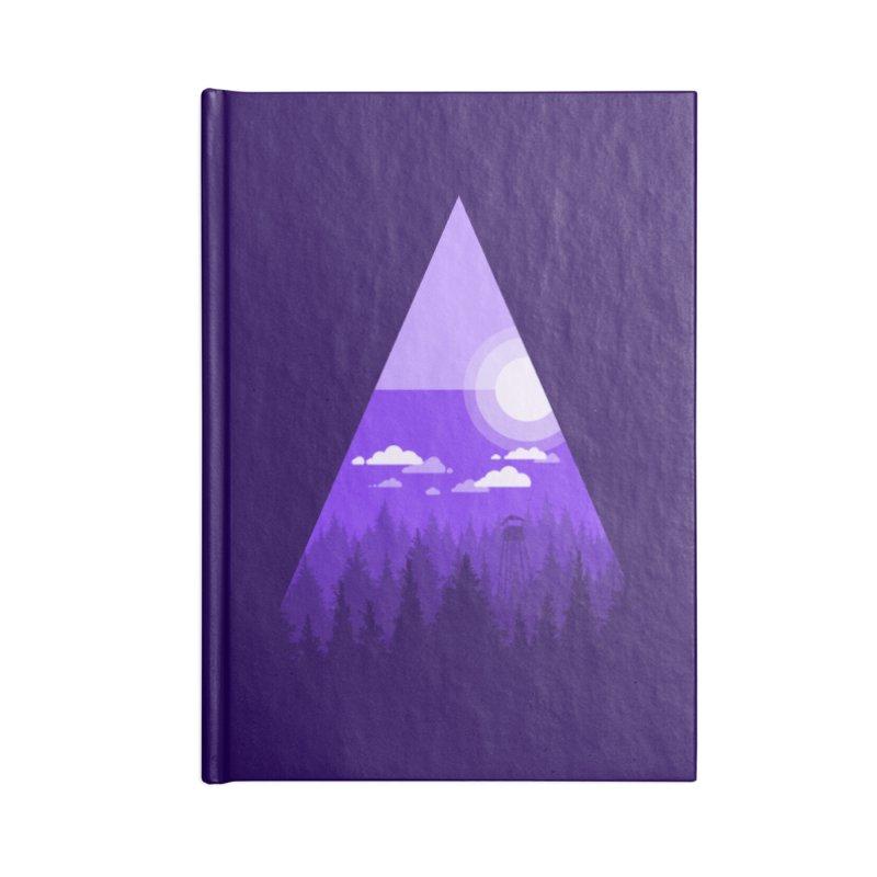Evening Watch Accessories Lined Journal Notebook by Gentlemen Tees