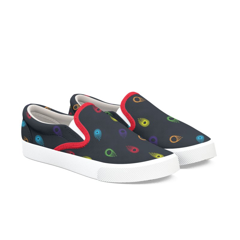 Permutation no. 132 in Men's Slip-On Shoes by Geometric Evolution