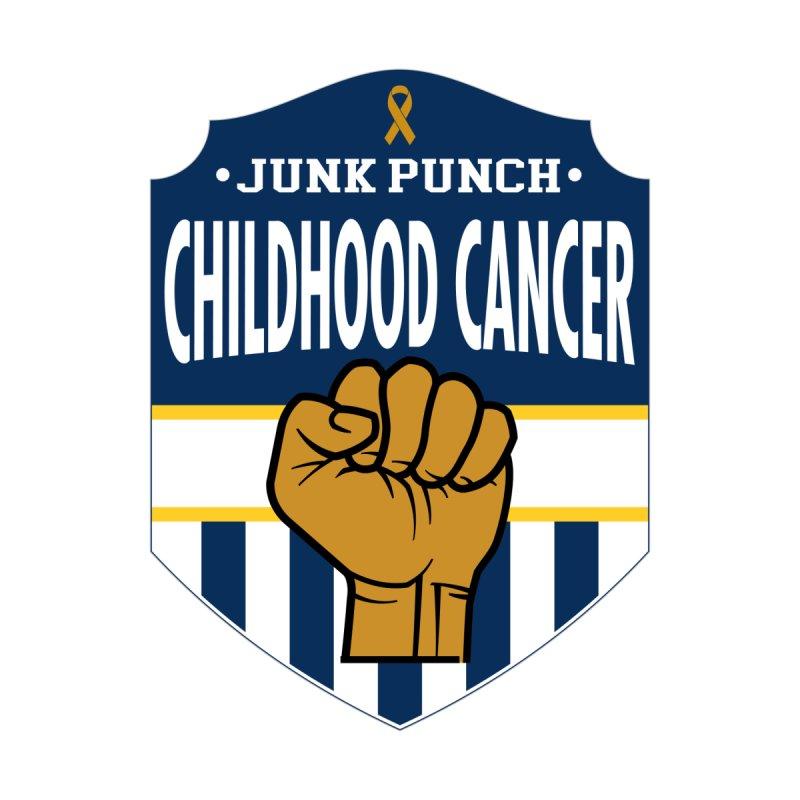 Junk Punch Childhood Cancer by GeorgeSaysCancerSucks