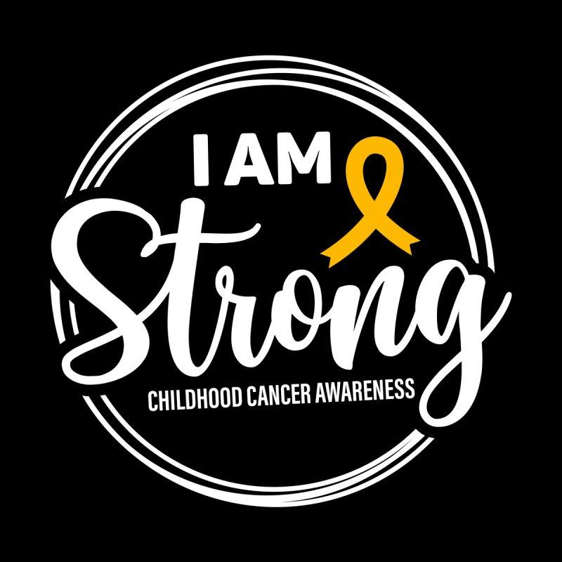 I Am Strong Men's T-Shirt by GeorgeSaysCancerSucks
