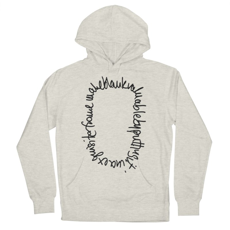 Make a blank valuable by putting it in an exquisite frame Women's Pullover Hoody by Getoutski's Artist Shop