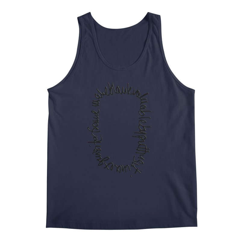 Make a blank valuable by putting it in an exquisite frame Men's Tank by Getoutski's Artist Shop