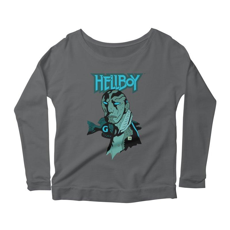 Hellboy > Abe Sapien-G Women's Longsleeve T-Shirt by Gigantic Brewing Company
