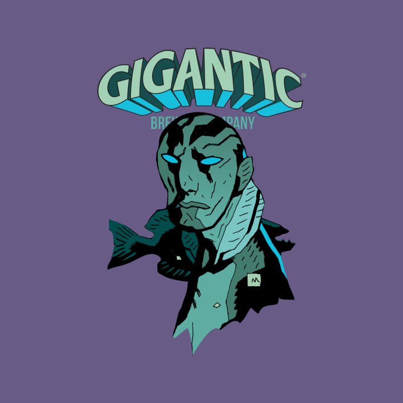 Gigantic Abe Sapien (Hellboy) Women's Longsleeve T-Shirt by Gigantic Brewing Company