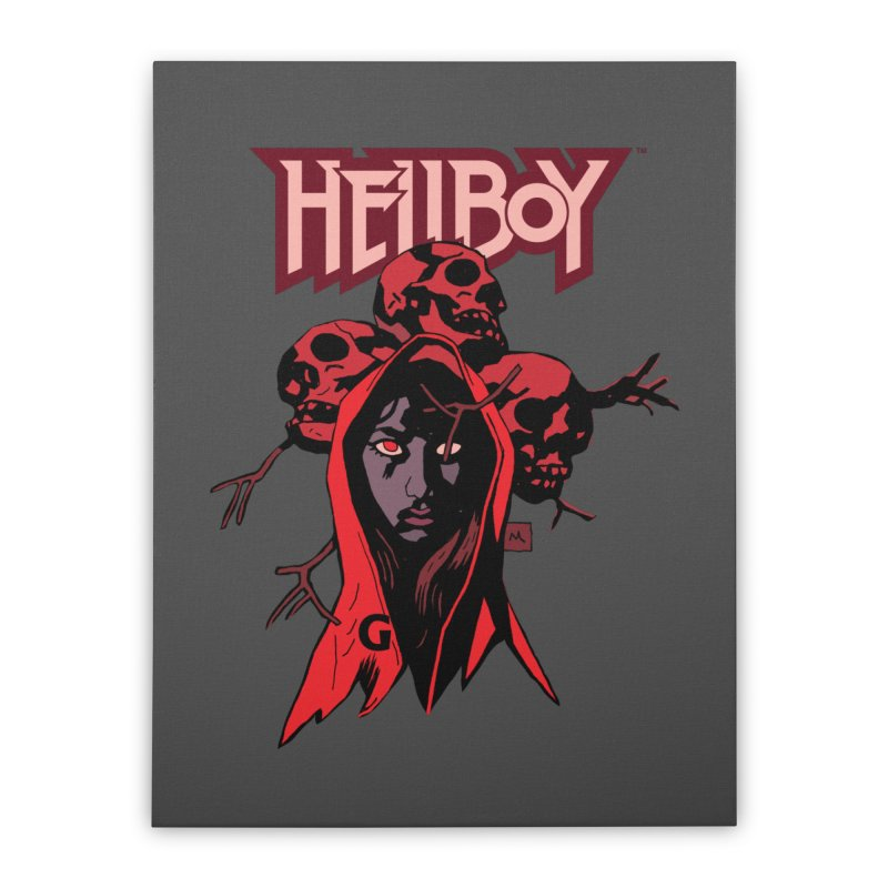 Hellboy > Blood Queen-G Home Stretched Canvas by Gigantic Brewing Company