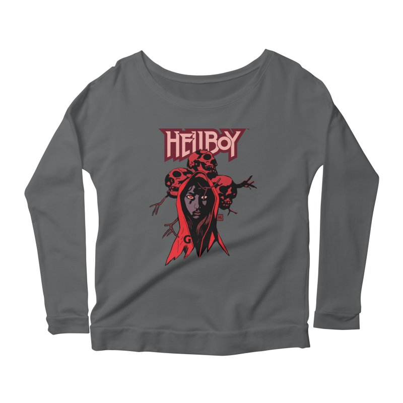 Hellboy > Blood Queen-G Women's Longsleeve T-Shirt by Gigantic Brewing Company