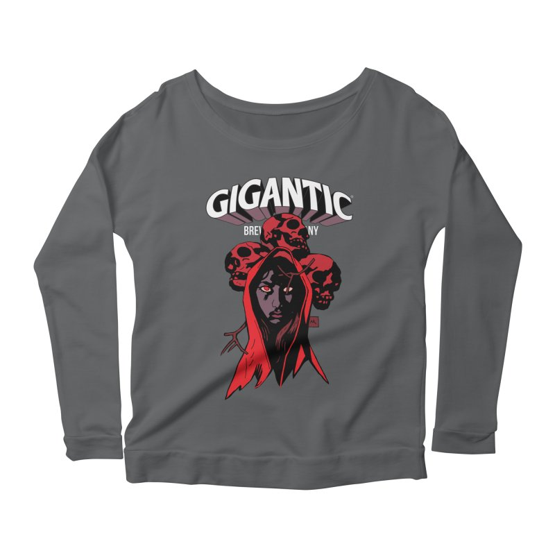 Gigantic Blood Queen (Hellboy) Women's Longsleeve T-Shirt by Gigantic Brewing Company