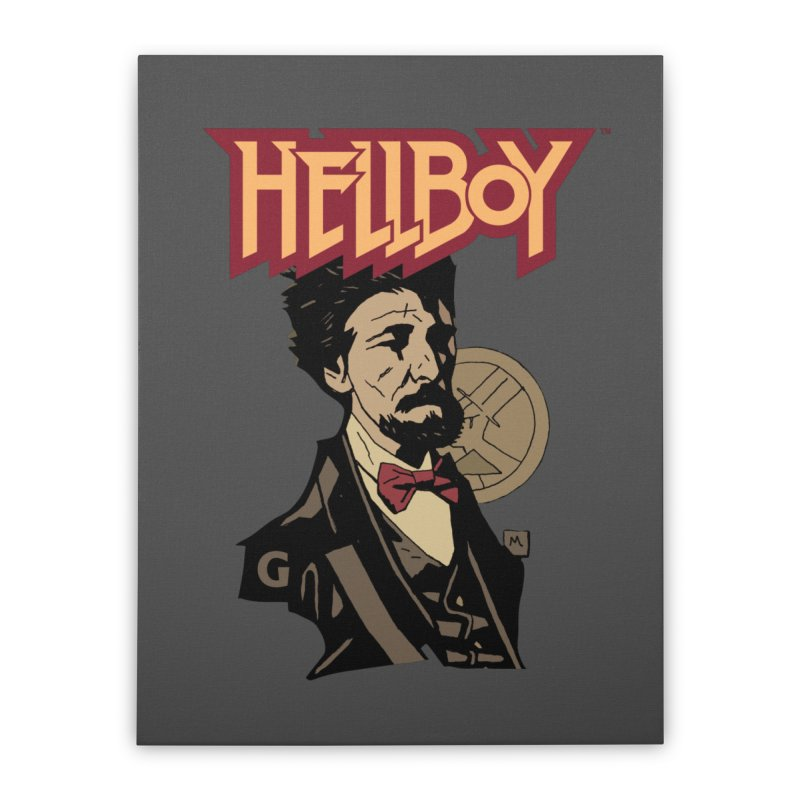 Hellboy > Professor-G Home Stretched Canvas by Gigantic Brewing Company