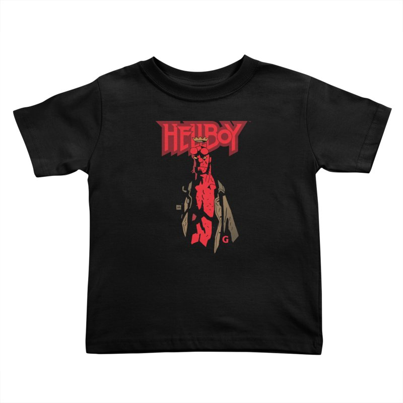 HELLBOY G Kids Toddler T-Shirt by Gigantic Brewing Company