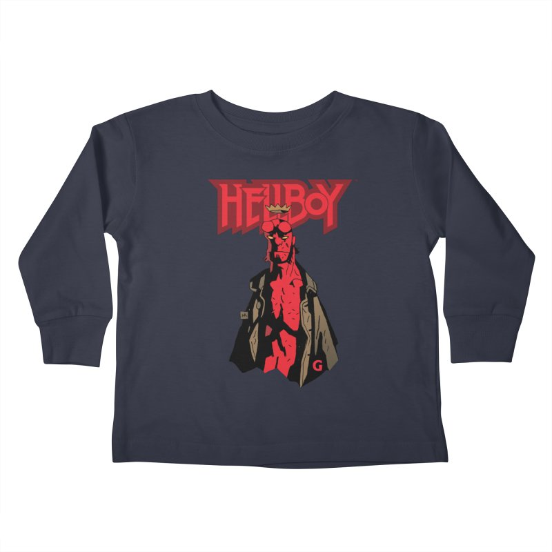 HELLBOY G Kids Toddler Longsleeve T-Shirt by Gigantic Brewing Company