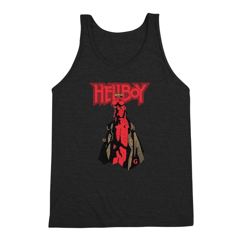 HELLBOY G Men's Triblend Tank by Gigantic Brewing Company