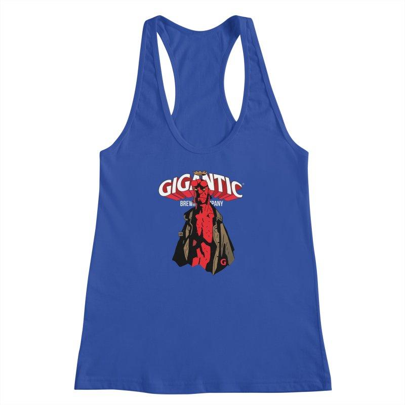 GIGANTIC HELLBOY Women's Racerback Tank by Gigantic Brewing Company