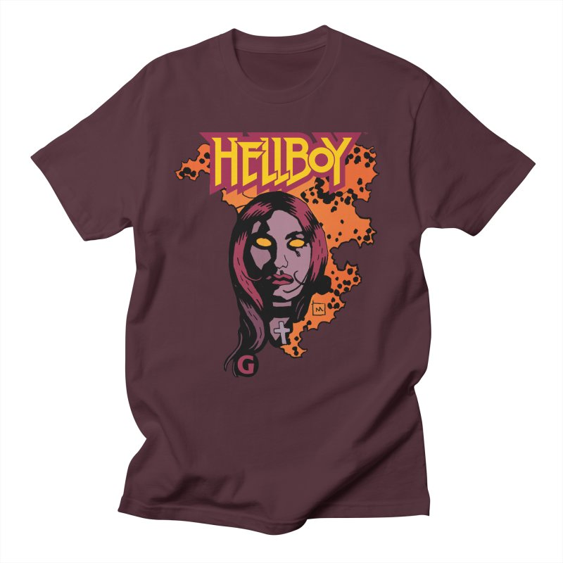 Hellboy > Liz Sherman-G Women's Regular Unisex T-Shirt by Gigantic Brewing Company
