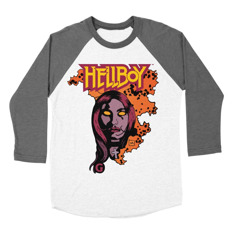 Hellboy > Liz Sherman-G Men's Baseball Triblend Longsleeve T-Shirt by Gigantic Brewing Company