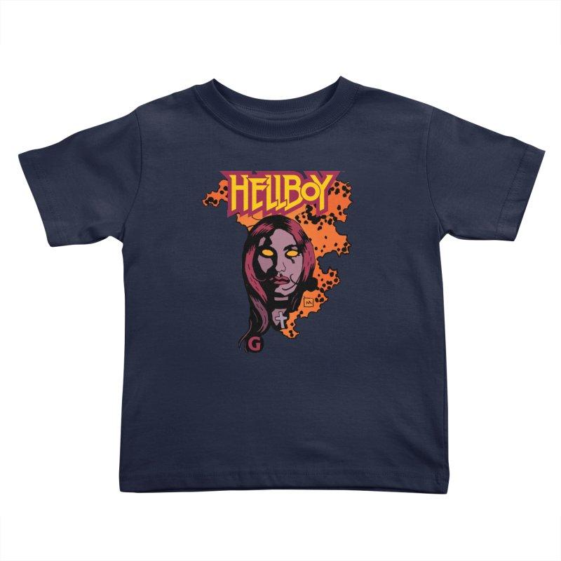 Hellboy > Liz Sherman-G Kids Toddler T-Shirt by Gigantic Brewing Company