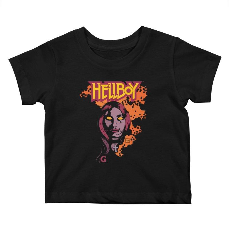 Hellboy > Liz Sherman-G Kids Baby T-Shirt by Gigantic Brewing Company
