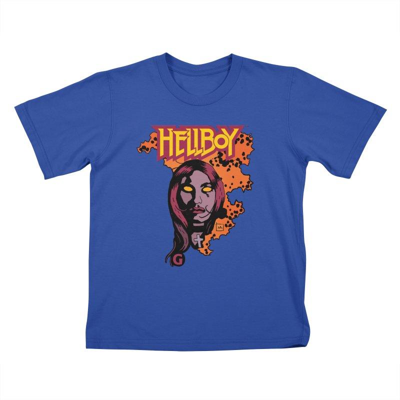 Hellboy > Liz Sherman-G Kids T-Shirt by Gigantic Brewing Company