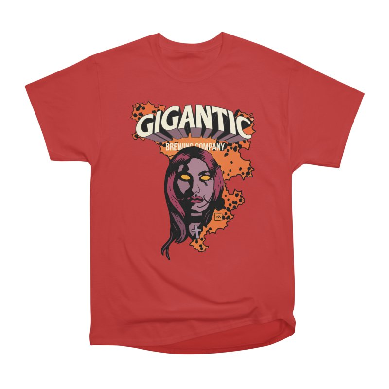 Gigantic Liz Sherman (Hellboy) Women's Heavyweight Unisex T-Shirt by Gigantic Brewing Company