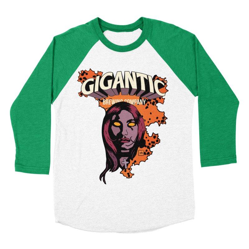 Gigantic Liz Sherman (Hellboy) Men's Baseball Triblend Longsleeve T-Shirt by Gigantic Brewing Company