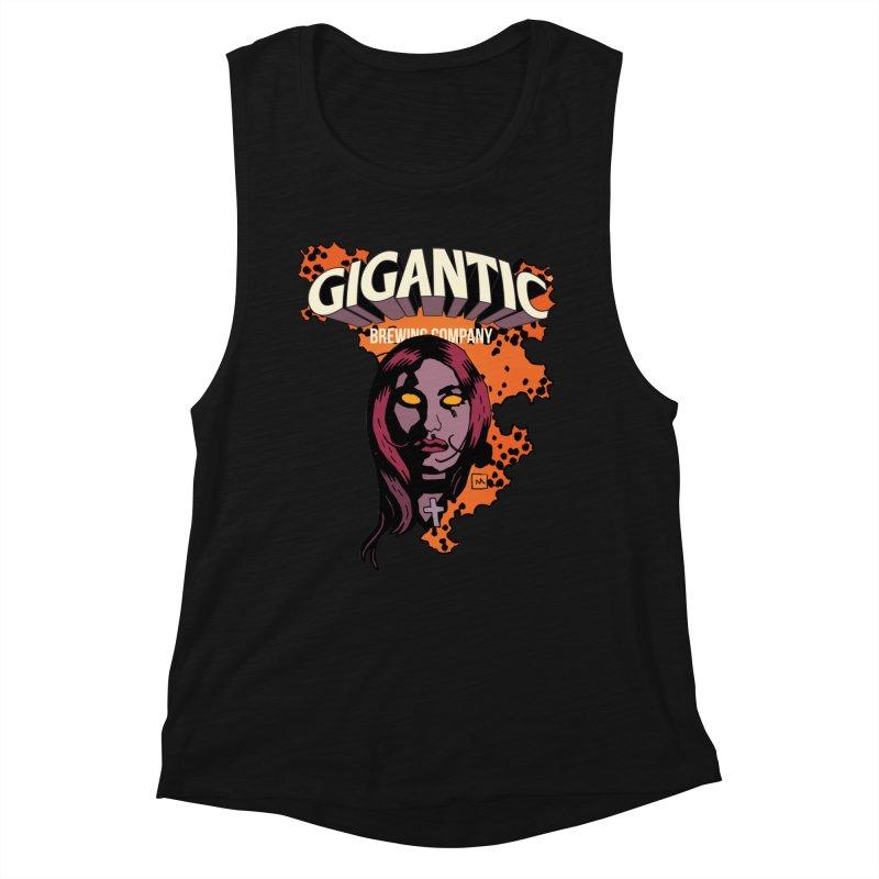 Gigantic Liz Sherman (Hellboy) Women's Tank by Gigantic Brewing Company