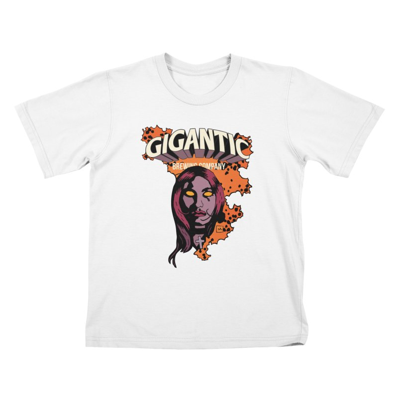 Gigantic Liz Sherman (Hellboy) Kids T-Shirt by Gigantic Brewing Company
