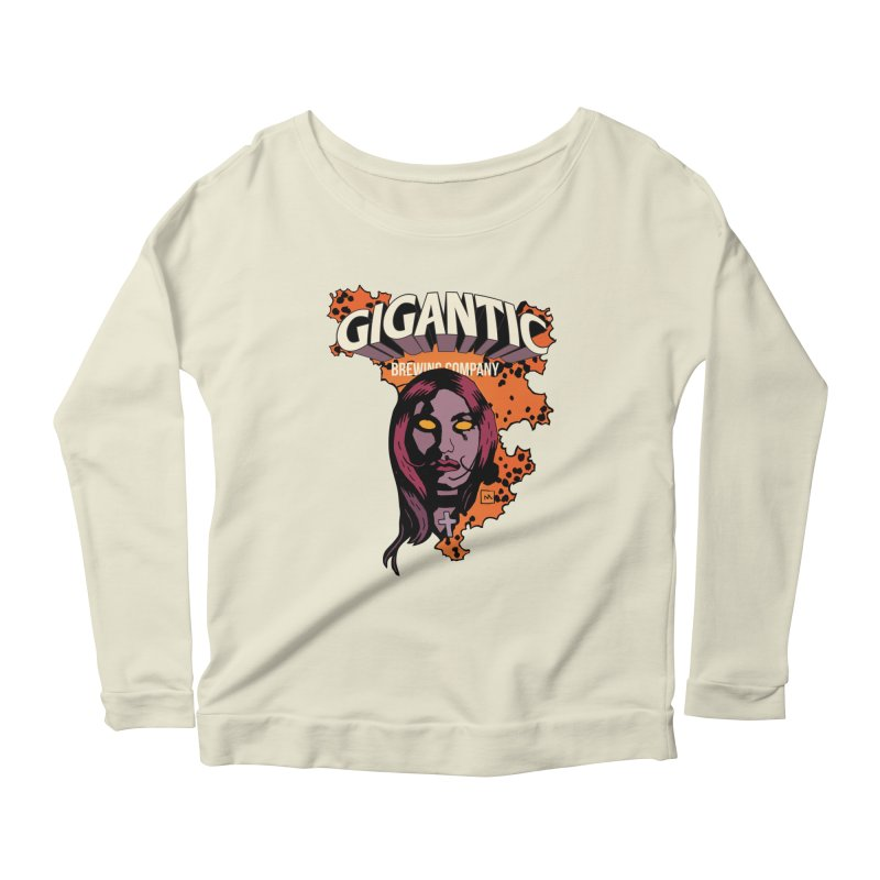 Gigantic Liz Sherman (Hellboy) Women's Scoop Neck Longsleeve T-Shirt by Gigantic Brewing Company