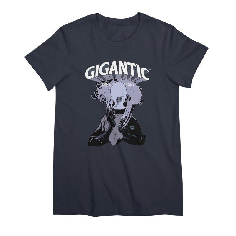Gigantic Johann Kraus (Hellboy) Women's Premium T-Shirt by Gigantic Brewing Company