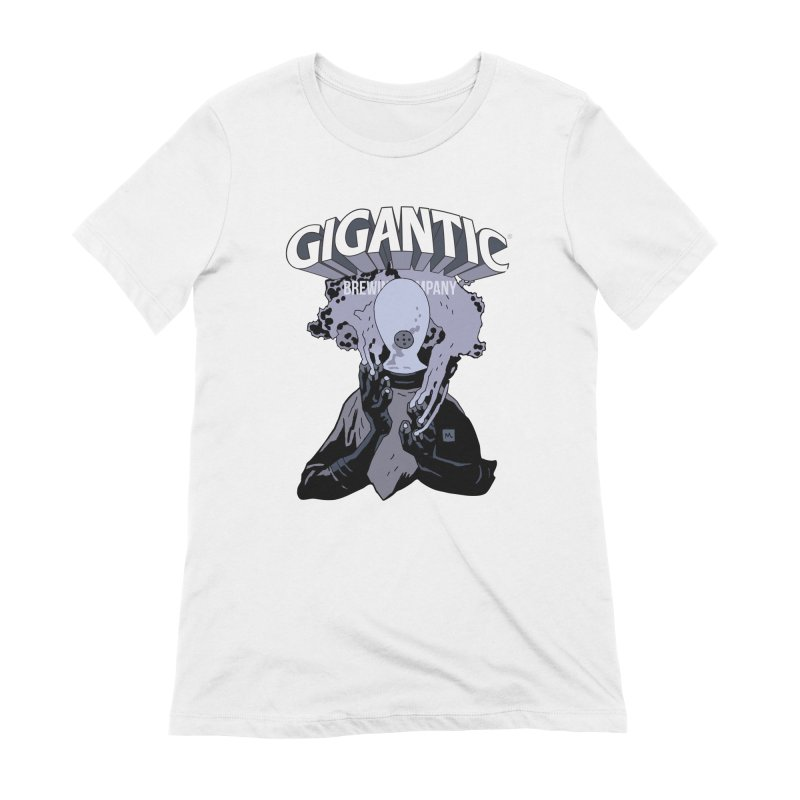 Gigantic Johann Kraus (Hellboy) Women's Extra Soft T-Shirt by Gigantic Brewing Company