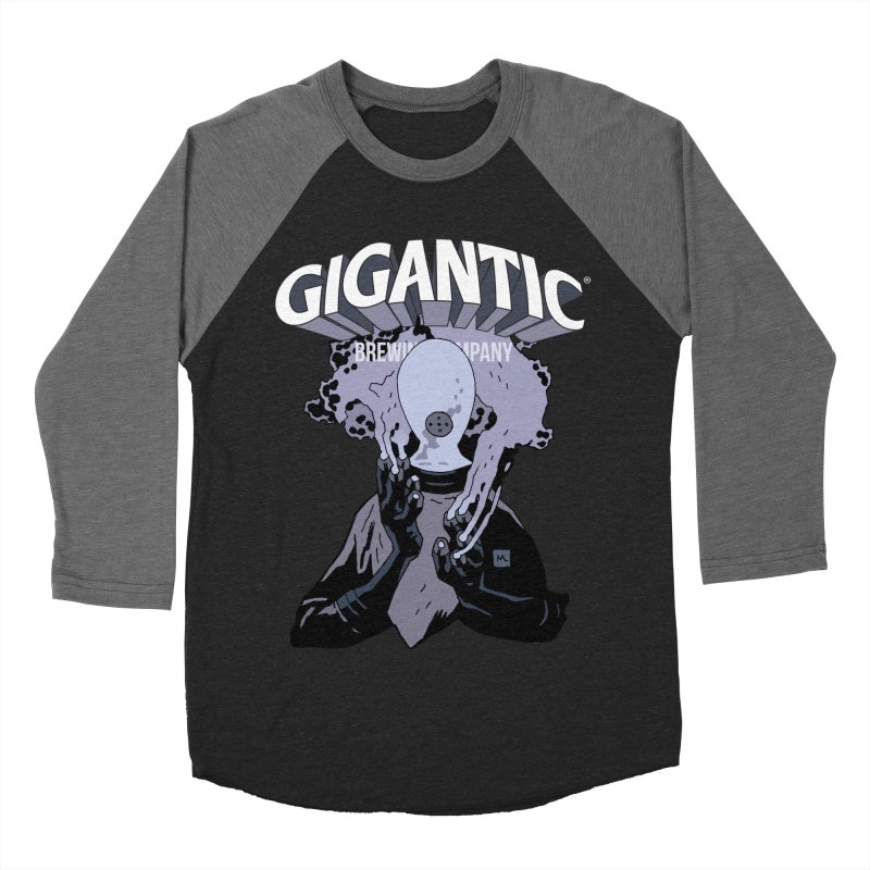 Gigantic Johann Kraus (Hellboy) Women's Baseball Triblend Longsleeve T-Shirt by Gigantic Brewing Company