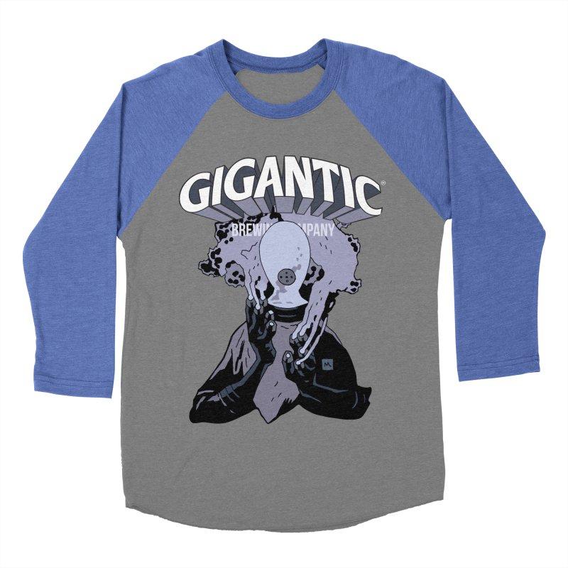 Gigantic Johann Kraus (Hellboy) Men's Baseball Triblend Longsleeve T-Shirt by Gigantic Brewing Company