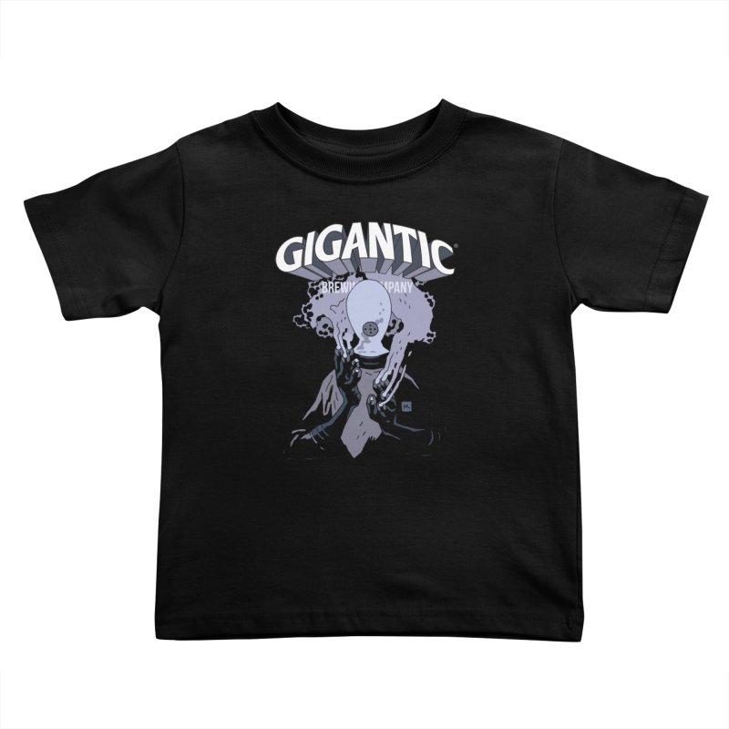 Gigantic Johann Kraus (Hellboy) Kids Toddler T-Shirt by Gigantic Brewing Company