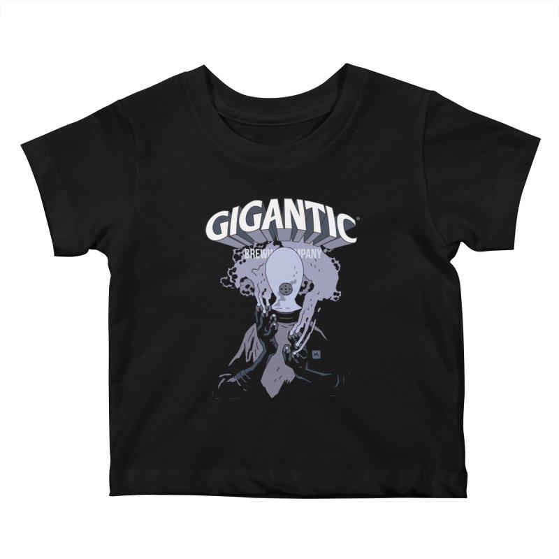 Gigantic Johann Kraus (Hellboy) Kids Baby T-Shirt by Gigantic Brewing Company