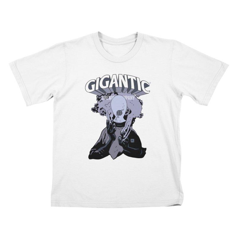 Gigantic Johann Kraus (Hellboy) Kids T-Shirt by Gigantic Brewing Company