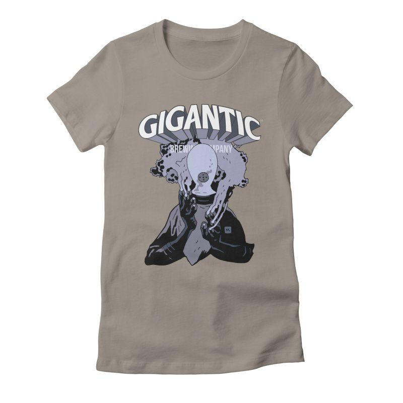 Gigantic Johann Kraus (Hellboy) Women's Fitted T-Shirt by Gigantic Brewing Company