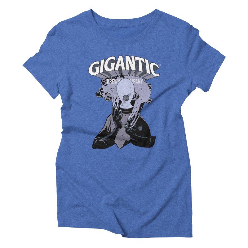 Gigantic Johann Kraus (Hellboy) Women's Triblend T-Shirt by Gigantic Brewing Company