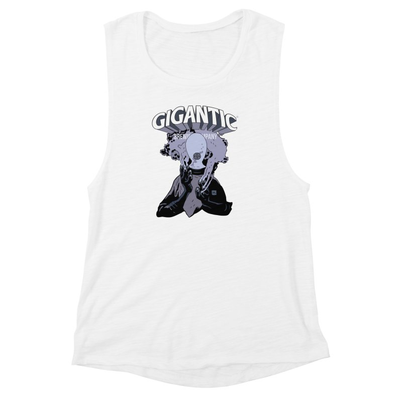 Gigantic Johann Kraus (Hellboy) Women's Muscle Tank by Gigantic Brewing Company