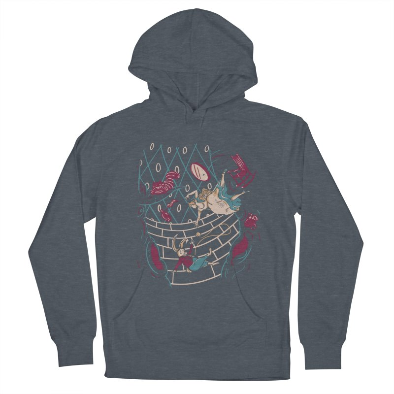 Follow the White Rabbit  Women's Pullover Hoody by Gil's Artist Shop
