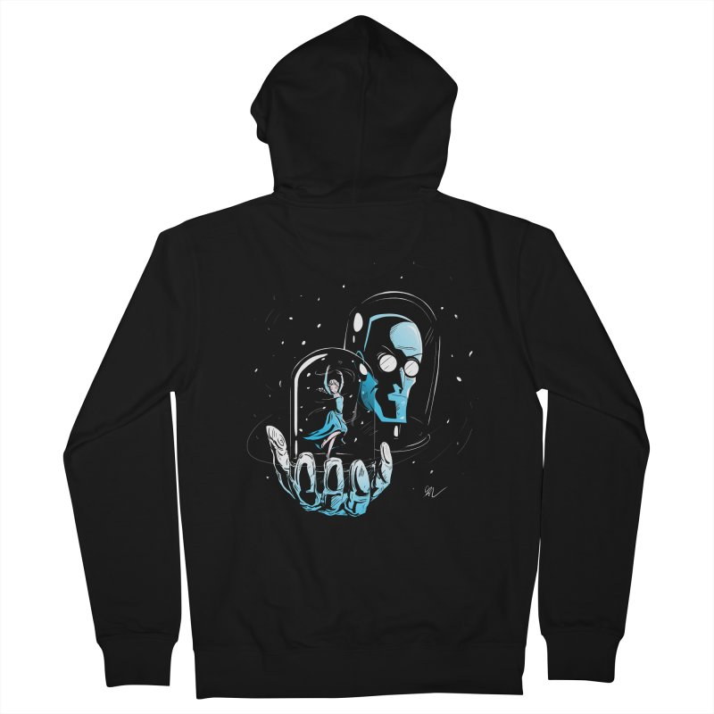 Frozen in Time Men's Zip-Up Hoody by Gil's Artist Shop