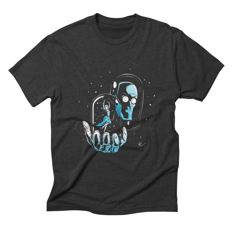 Frozen in Time Men's Triblend T-Shirt by Gil's Artist Shop