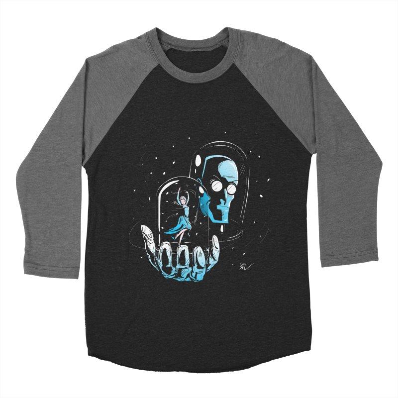 Frozen in Time Women's Baseball Triblend T-Shirt by Gil's Artist Shop